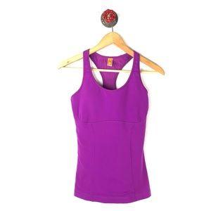 Lucy S Top racerback athletic yoga built it bra